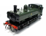 7S-024-002  Dapol ex Lionheart Class 64xx Pannier 6417 Great Western Shirt button GWR Green